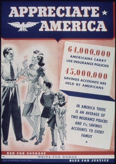 -Appreciate_America._64,000,00_Americans_Carry_Life_Insurance_Policies._45,000,000_Savings_Accounts_Are_Held_By..._-_NARA_-_513865