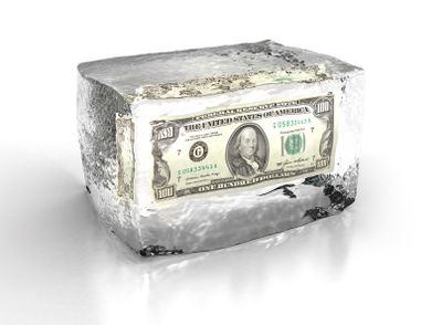 Money-in-ice